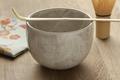 Accessories to prepare Japanese matcha tea