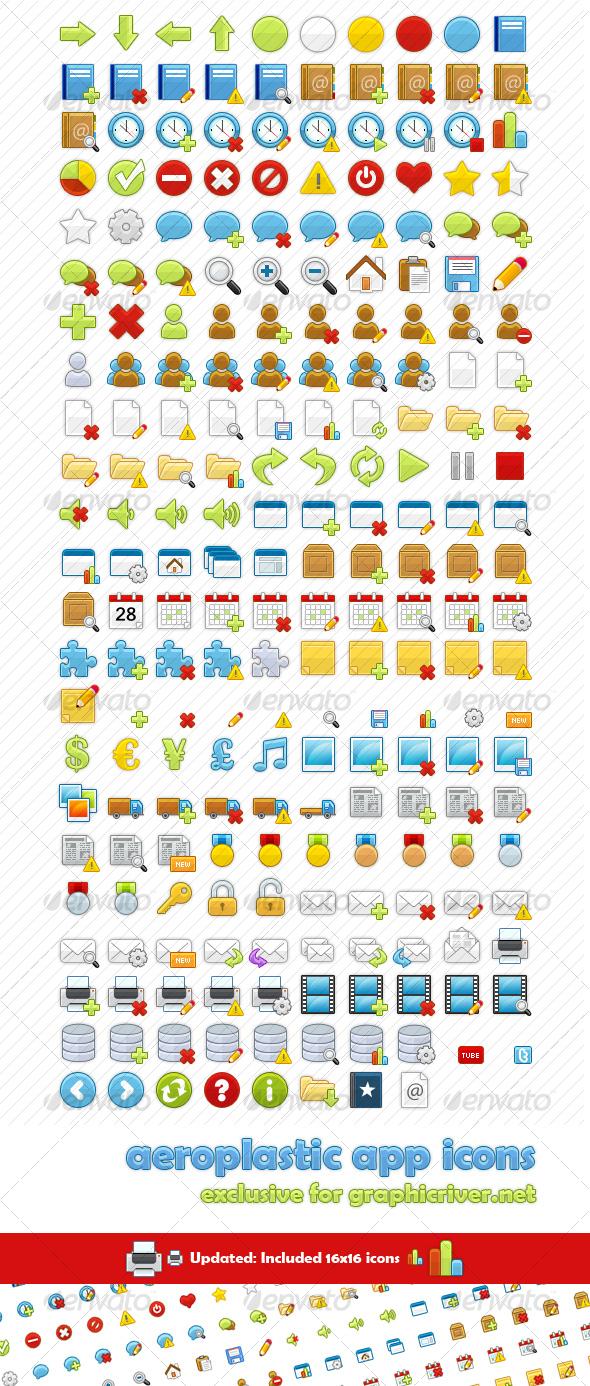 228 App Icons - Aeroplastic - Software Icons