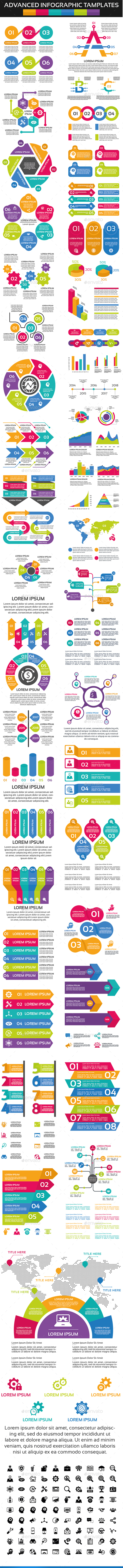 Advanced Infographic Elements - Infographics