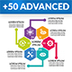 Advanced Infographic Elements - GraphicRiver Item for Sale