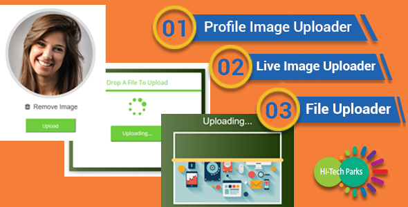 Drag & Drop - Image and File Uploader Best Scripts