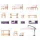 Vector Patio and Outdoor Furniture Set