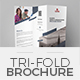 TriFold Brochure Template 06 - GraphicRiver Item for Sale