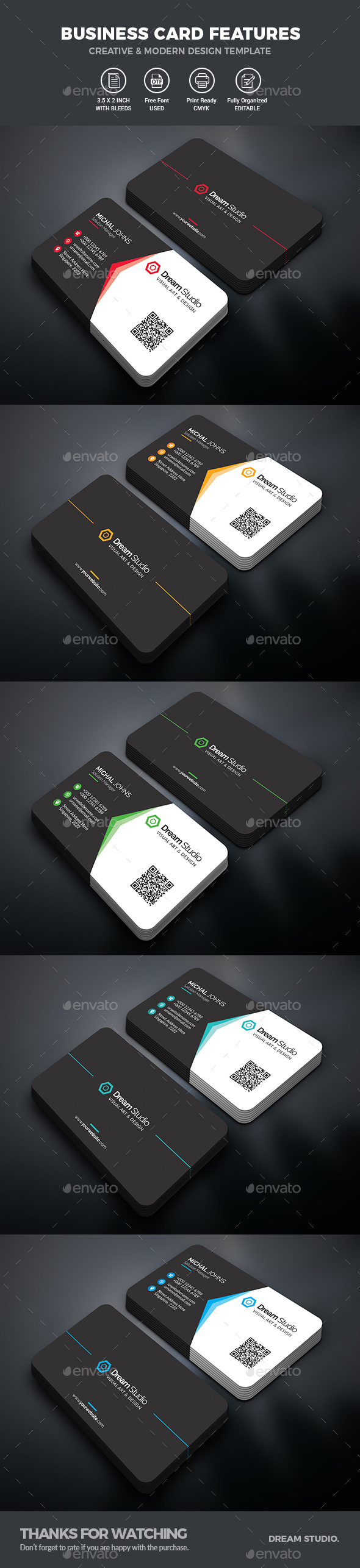 GraphicRiver Business Card 20447233