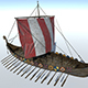 Viking Ship - 3DOcean Item for Sale