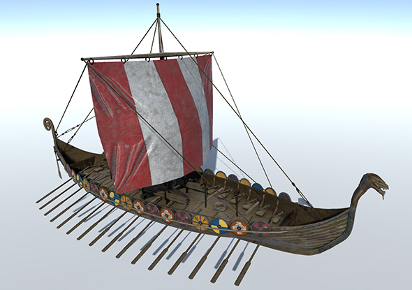 3DOcean Viking Ship 20447272