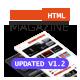 Dots Magazine HTML Templates