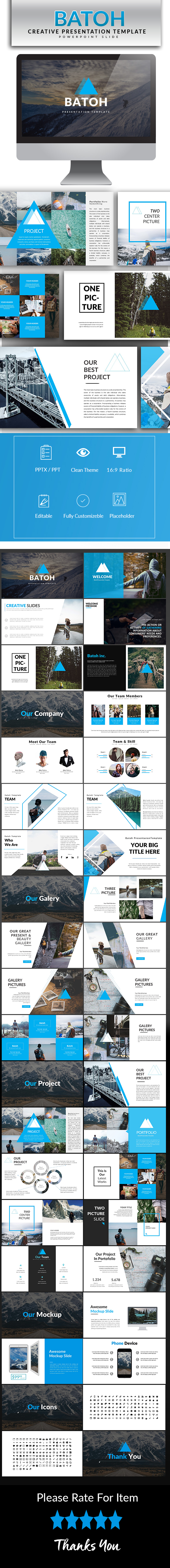 GraphicRiver Batoh Powerpoint Template 20447372