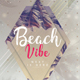 Beach Vibe - PSD Flyer Template - GraphicRiver Item for Sale