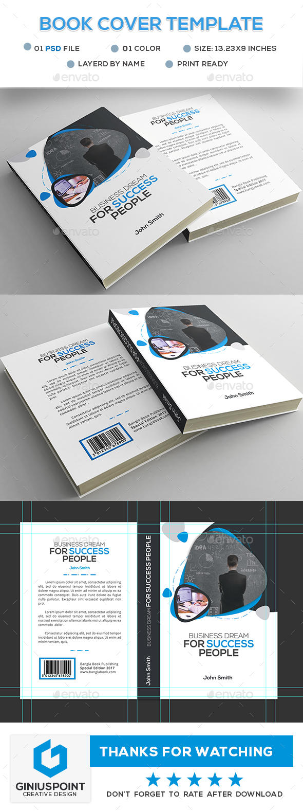 GraphicRiver Book Cover Template 20447460
