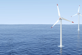 Wind turbines in the sea - PhotoDune Item for Sale
