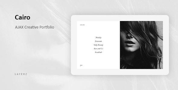 Cairo - Ajax Based Creative Portfolio
