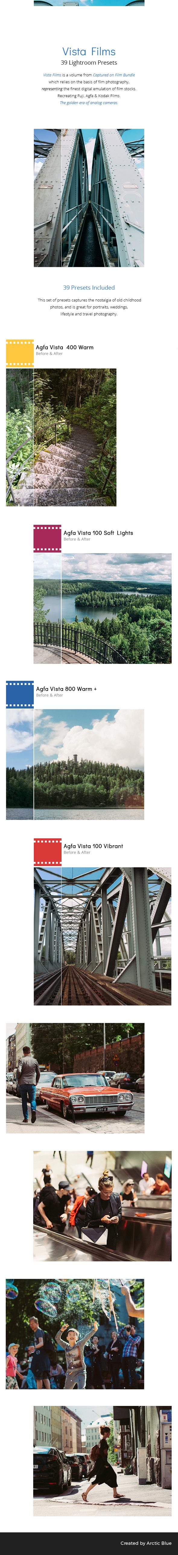 39 Vista Films - Lightroom Presets - Film Lightroom Presets