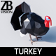 Lowpoly Turkey