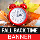 Fall Back Time Sale