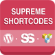 Supreme Shortcodes | WordPress Plugin - CodeCanyon Item for Sale