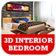 3D Bedroom Design - 3DOcean Item for Sale
