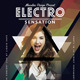 Electro Flyer/Poster Vol.6 - GraphicRiver Item for Sale