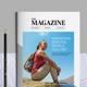 Magazine Templete