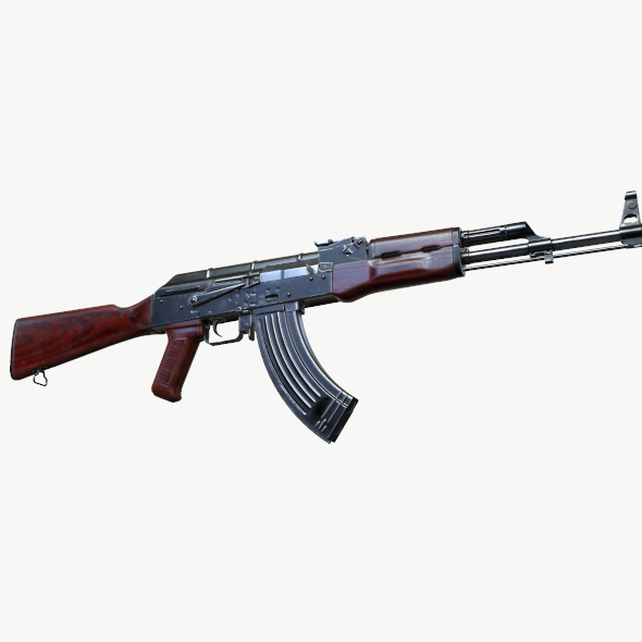 AKM (AK-47 AK-74) - 3DOcean Item for Sale