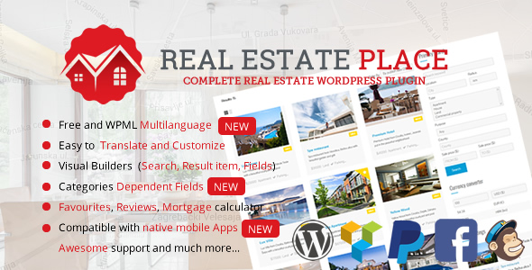 Real Estate Portal for WordPress - CodeCanyon Item for Sale