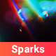 120 Light Sparks Backgrounds