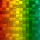 Rainbow Blocks Background