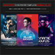 Electro Music Flyer/Instagram Bundle Vol. 46 - GraphicRiver Item for Sale