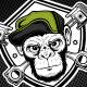 Monkey Piston Logo