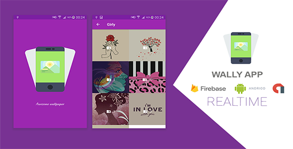 WALLY Android Wallpapers App with Firebase - CodeCanyon Item for Sale