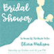 Bridal Shower Invitation Template - Vol. 2
