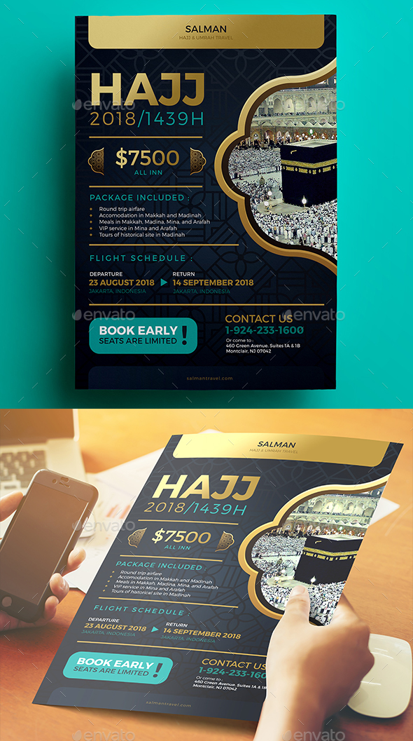 GraphicRiver Hajj Flyer 20449557