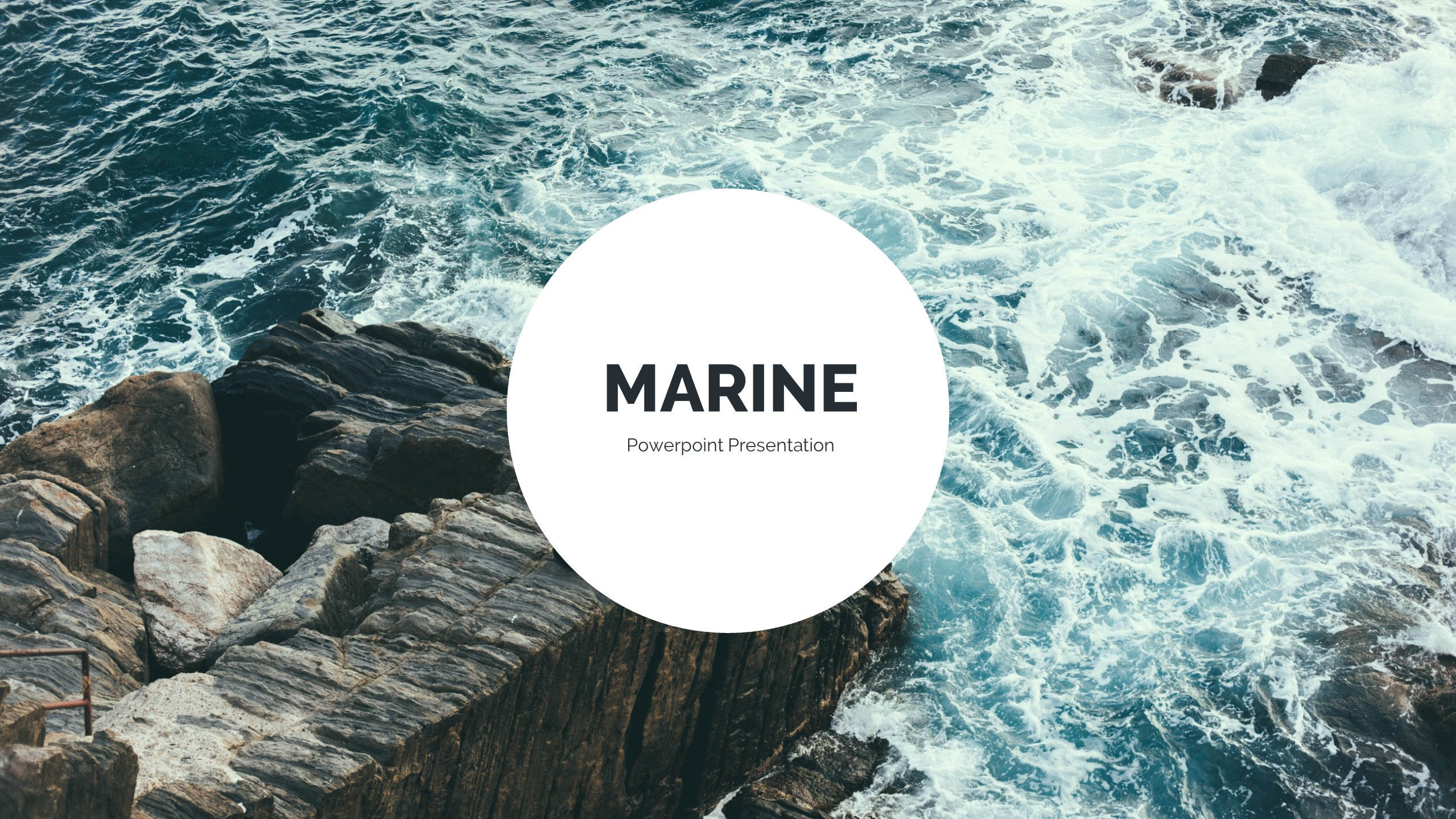 Marine powerpoint template by qiudesigns graphicriver marine powerpoint template toneelgroepblik Images