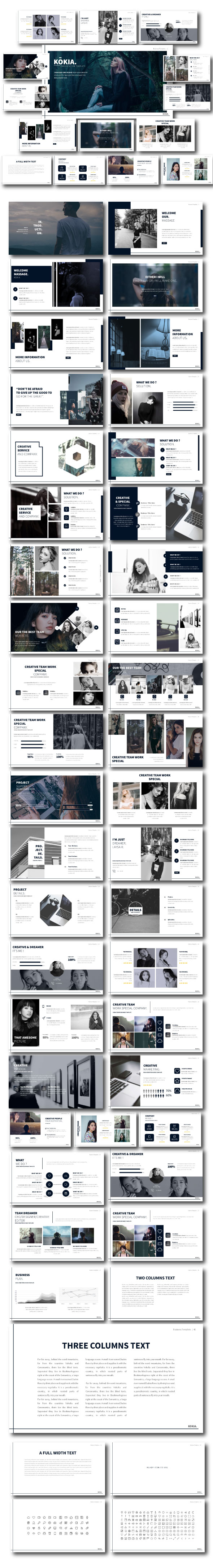Kokia - Multipurpose Template - Business PowerPoint Templates