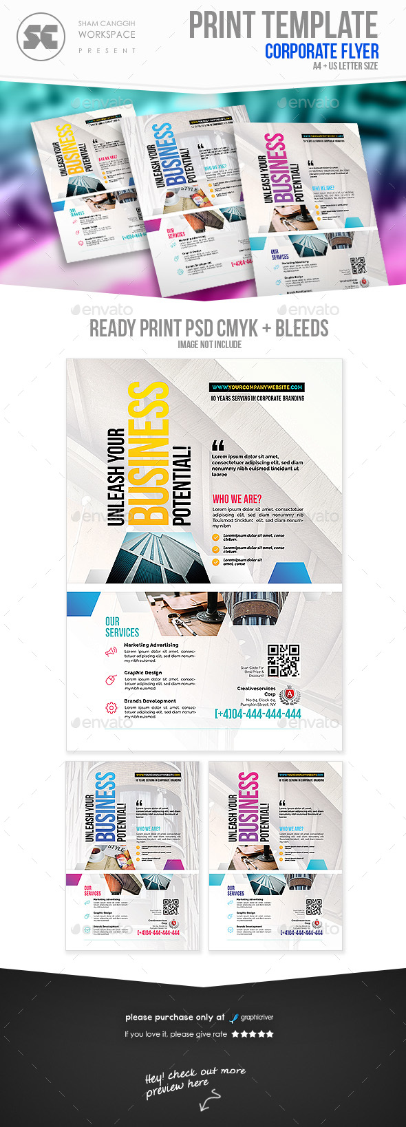 GraphicRiver Corporate flyer 20450115