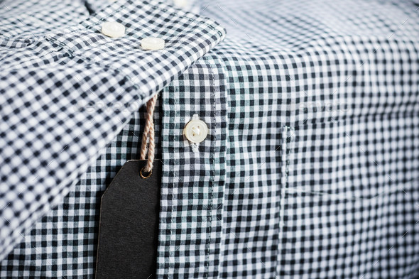 Price tag on shirt - Stock Photo - Images