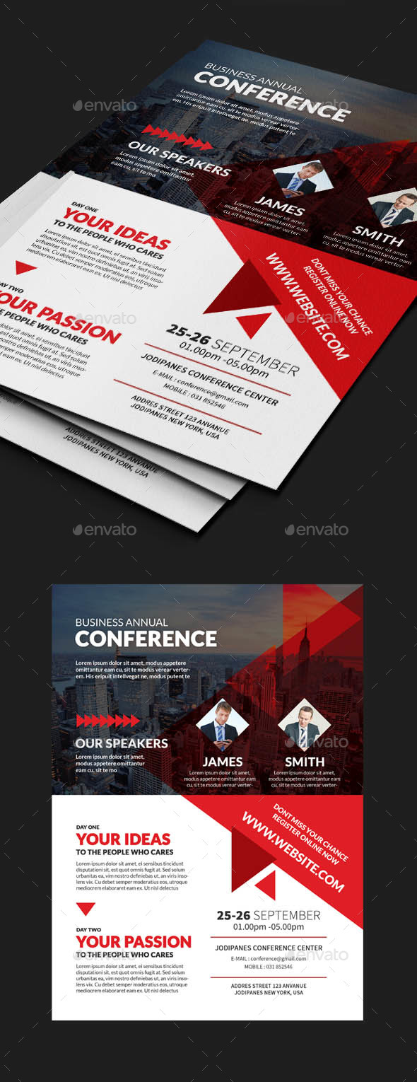 Business Conference Flyer - Corporate Flyers