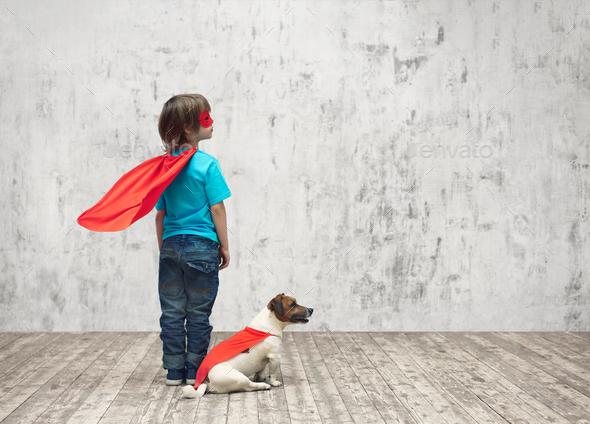 Superhero - Stock Photo - Images