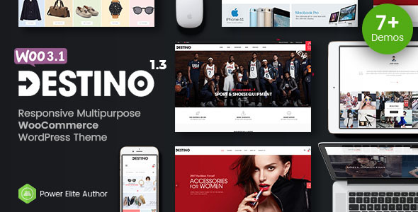 Destino - Advanced WooCommerce WordPress Theme with Mobile-Specific Layouts - WooCommerce eCommerce