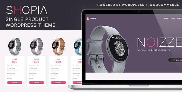 ThemeForest Shopia Single Product WooCommerce WordPress Theme 14543585