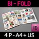 Products Catalogs Bi-Fold Brochure Template Vol.4
