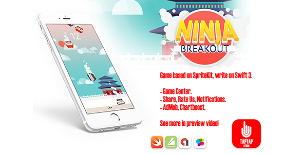 Ninja Breakout - CodeCanyon Item for Sale