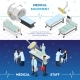 Medical Equipment  And Medical Staff Horizontal