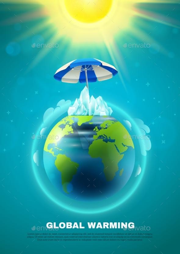 Global Warming Poster - Nature Conceptual