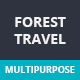 Forest Travel | Multipurpose PSD Template