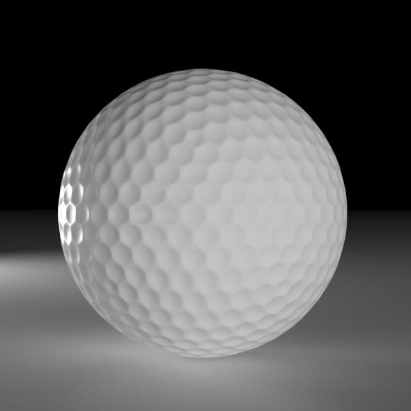 3DOcean Golf Ball 20451453
