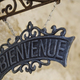 Close up of a welcome sign - PhotoDune Item for Sale