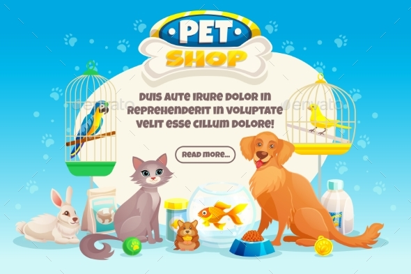 Pet Shop Composition