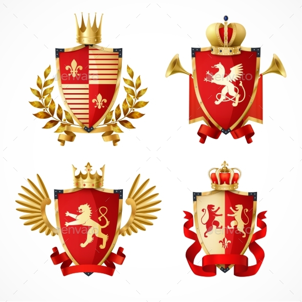 GraphicRiver Heraldic Coat Of Arms Set 20451604