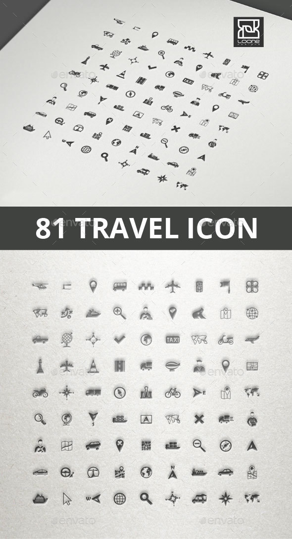 Travel Icon - Seasonal Icons